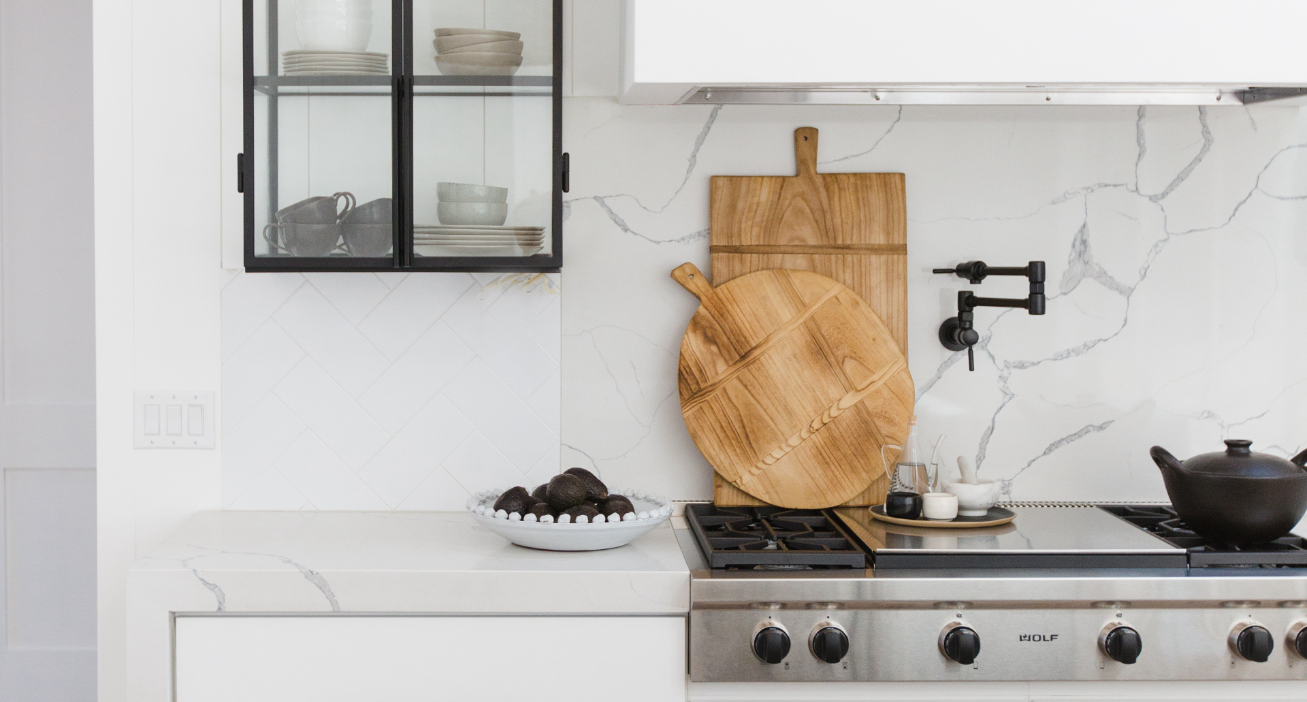 #DarlingAbodeProj Styled Kitchen Counter