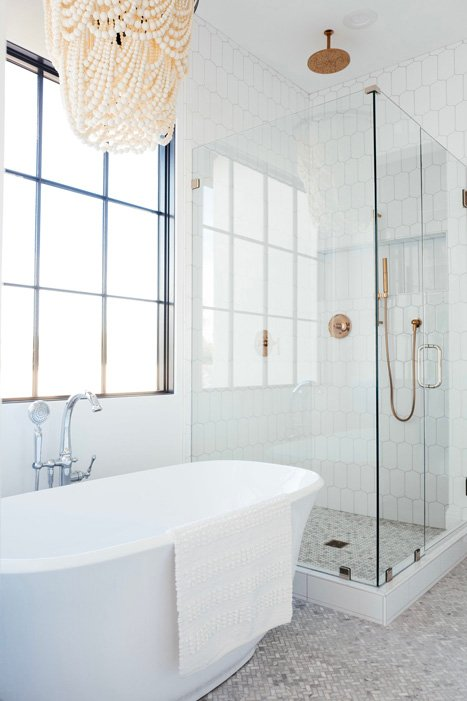 The LifestyledCo #SapphirePVProj Guest Bath