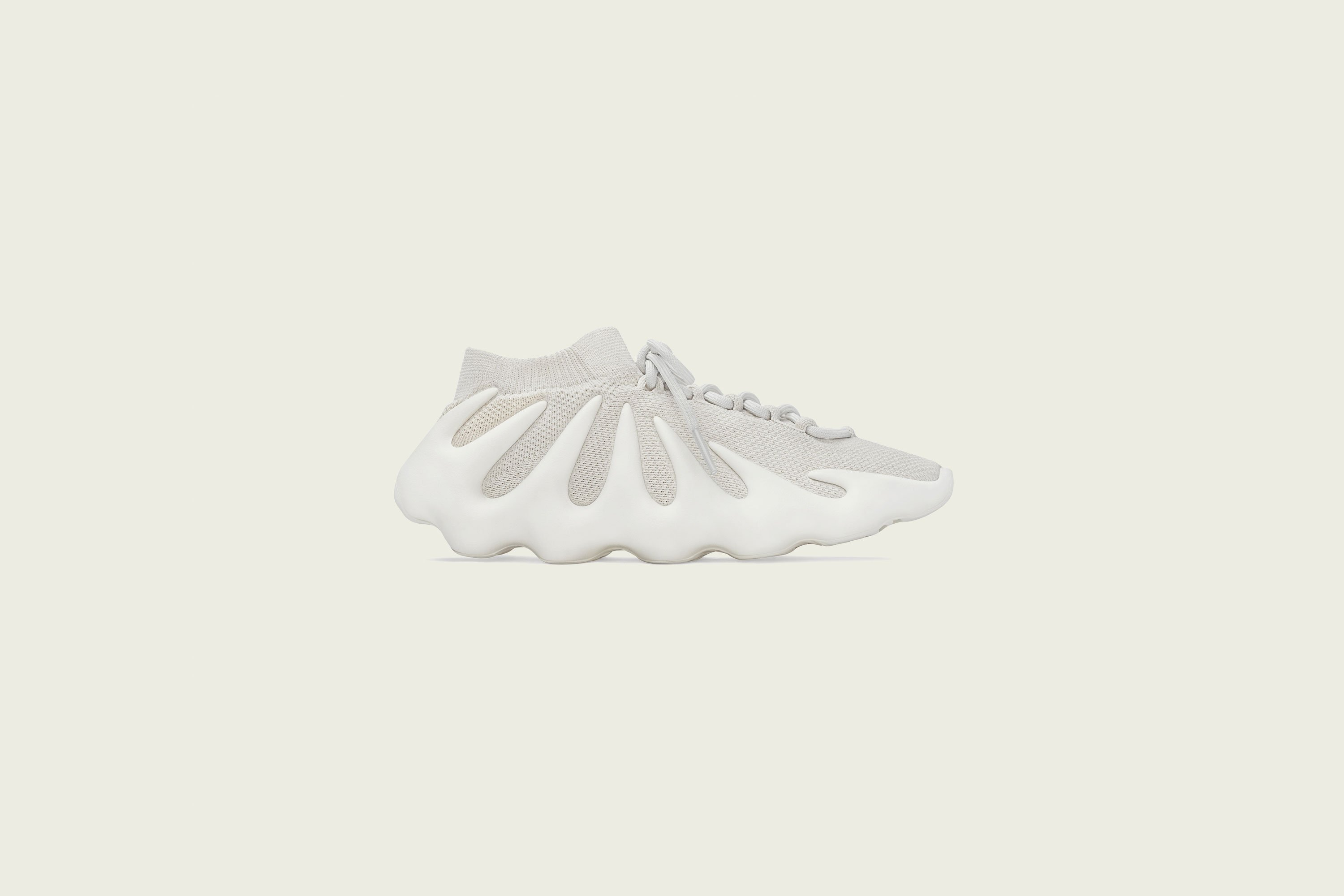 Up There Launches - adidas Originals Yeezy 450 'Cloud White'
