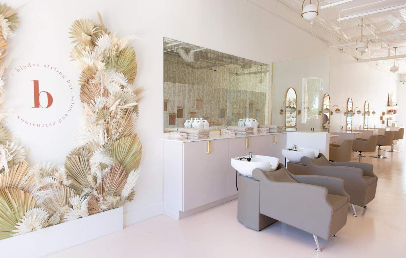 The LifestyleCo #Blades Salon Interior