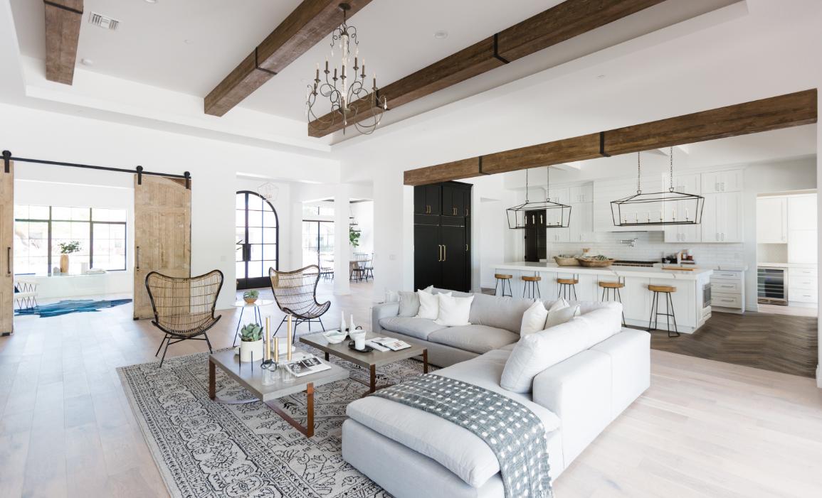 #76thBuild Living Room