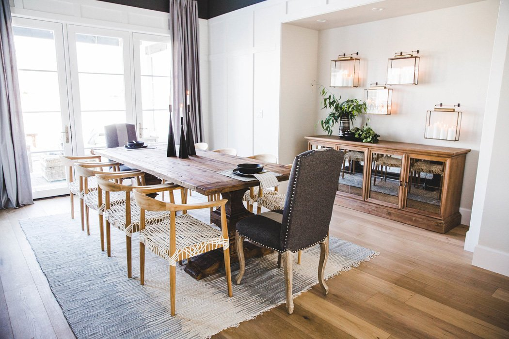 #ChartOakProj Dining Room