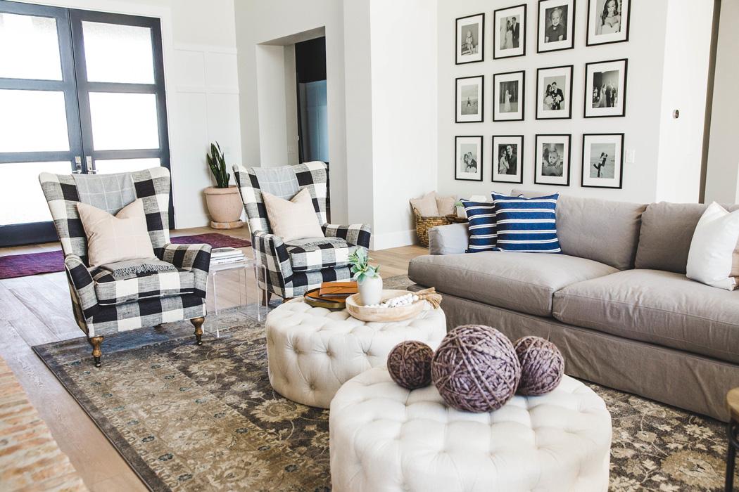 #ChartOakProj Living Room