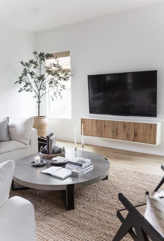 TheLifestyledCo #SierraMadreProj Living Room