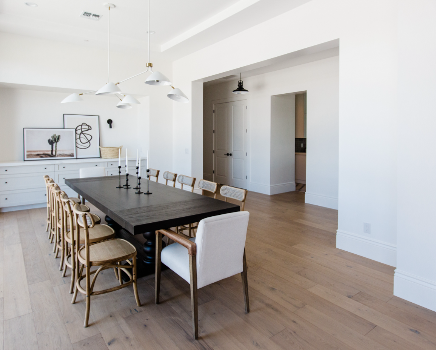 TheLifestyledCo #75thBuild Dining Room