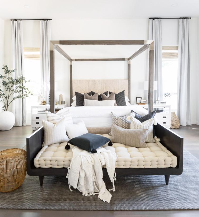 TheLifestyledCo #SaguaroPlaceProj Primary Bedroom