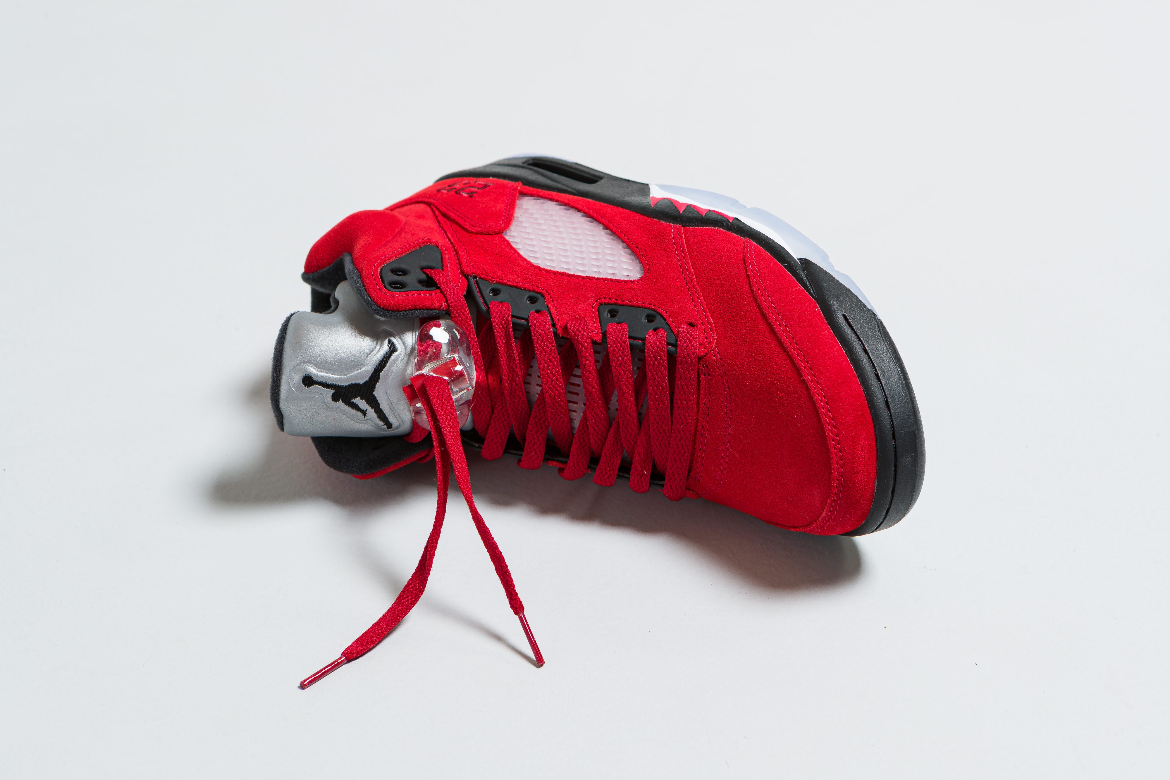 Up There Launches - Air Jordan 5 Retro - Varsity Red/Black-White 'Raging Bull'