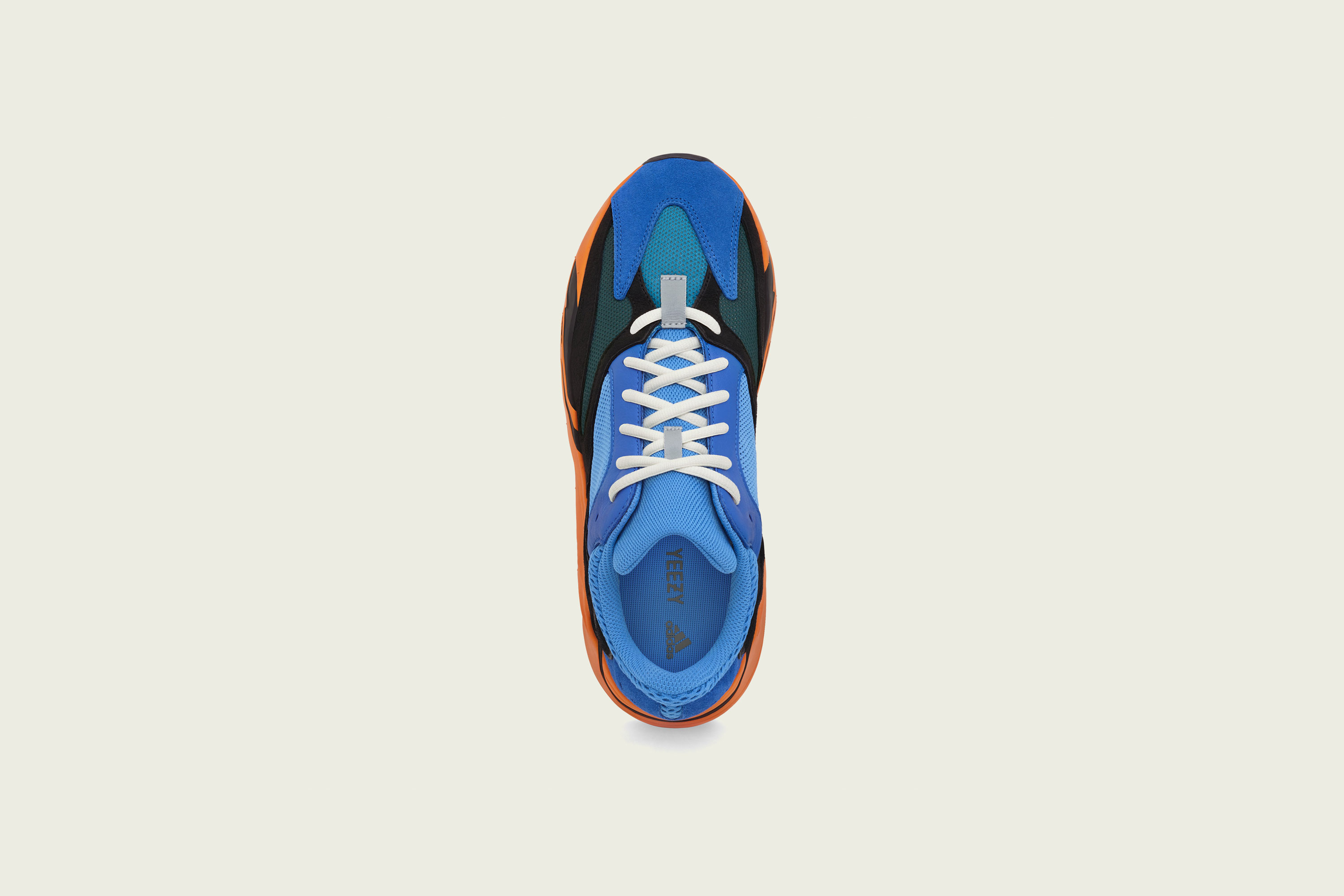 Up There Launches - adidas Originals Kanye West Yeezy Boost 700V1 Bright Blue