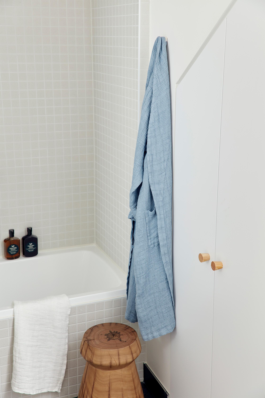 Juno Hand Towel, Stanley Stool + Juno Robe