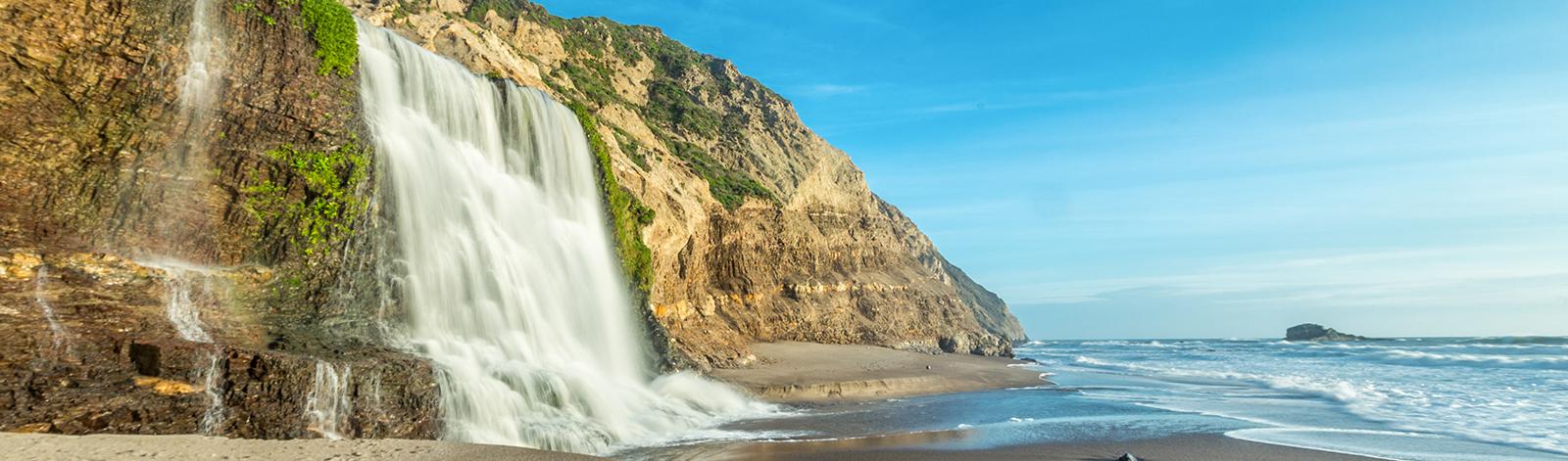 Alamere Waterfalls, Marin County California