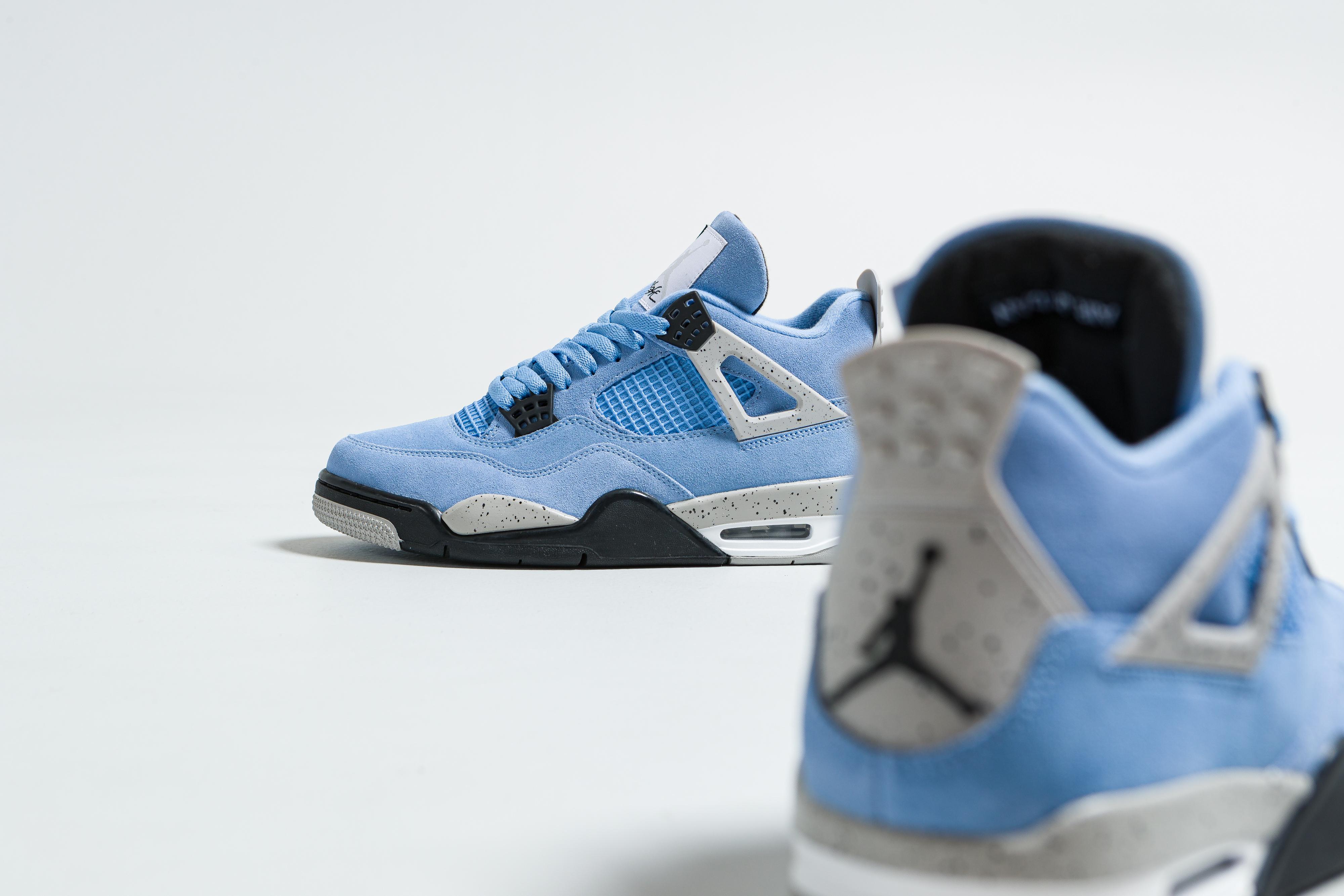Up There Launches - Nike Air Jordan 4 Retro 'University Blue'
