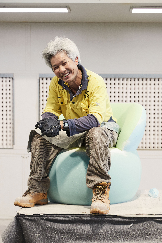Bay  Upholstery — Prepping