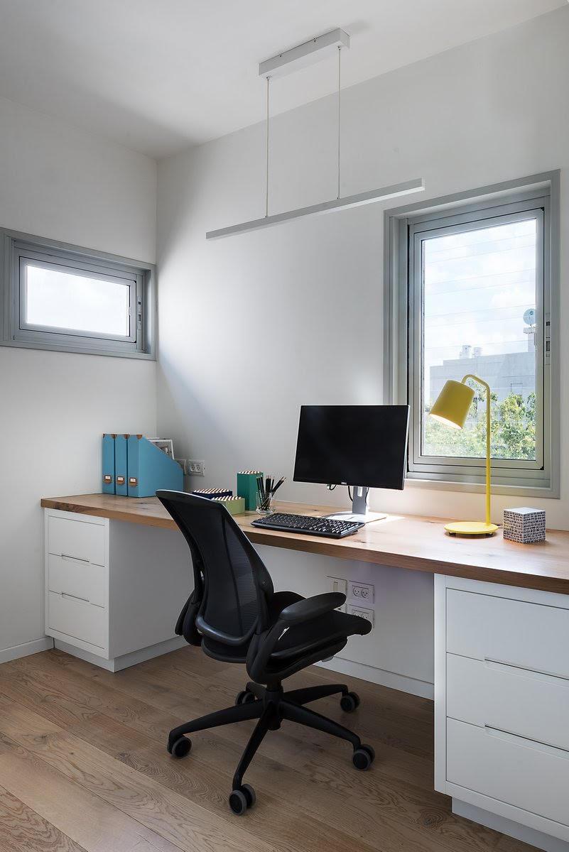 שולחן עבודה ושידת מגירות לפי מידה, נגרות בהתאמה אישית