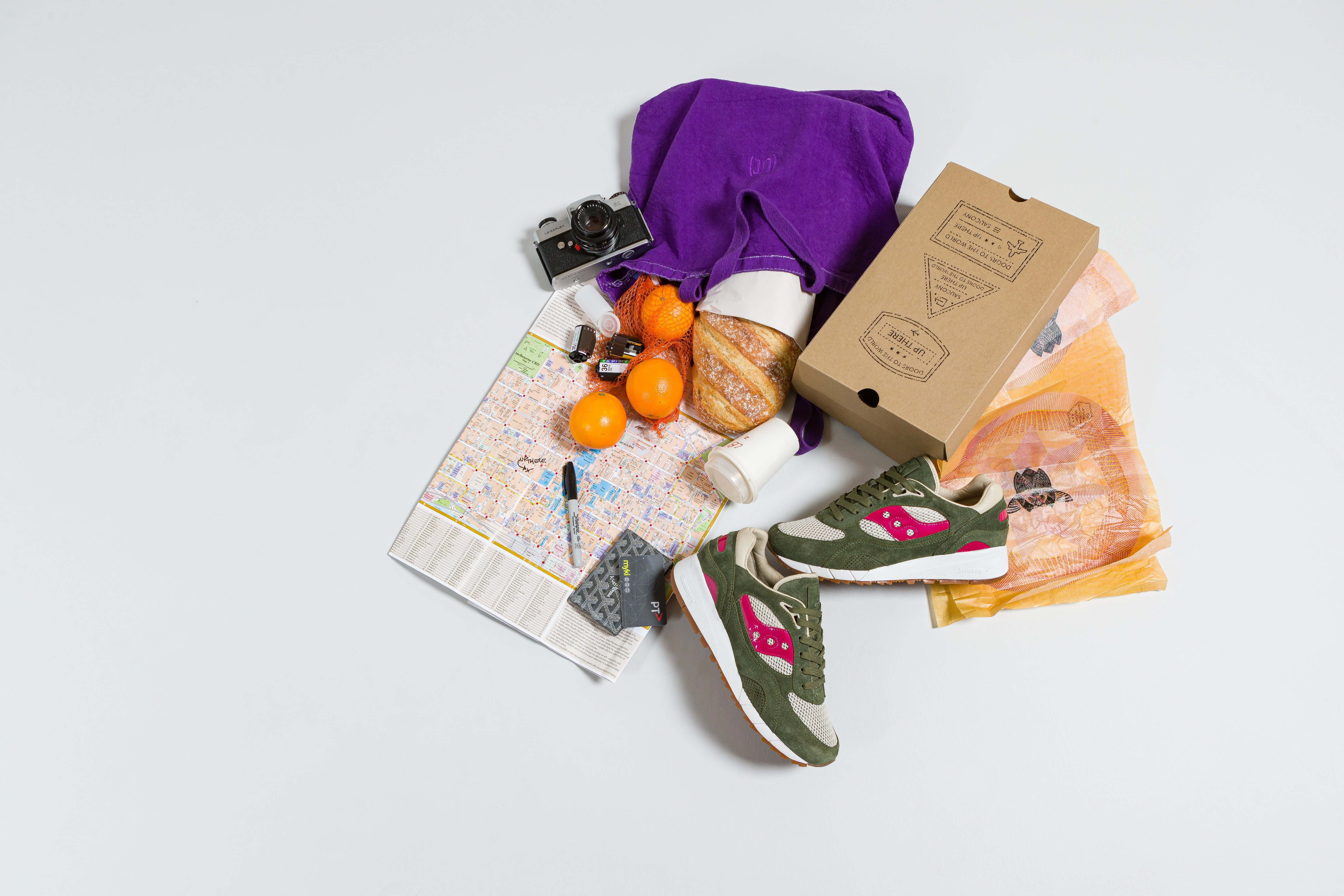 Up There X Saucony Shadow 6000 'Doors To The World' Release & Competition