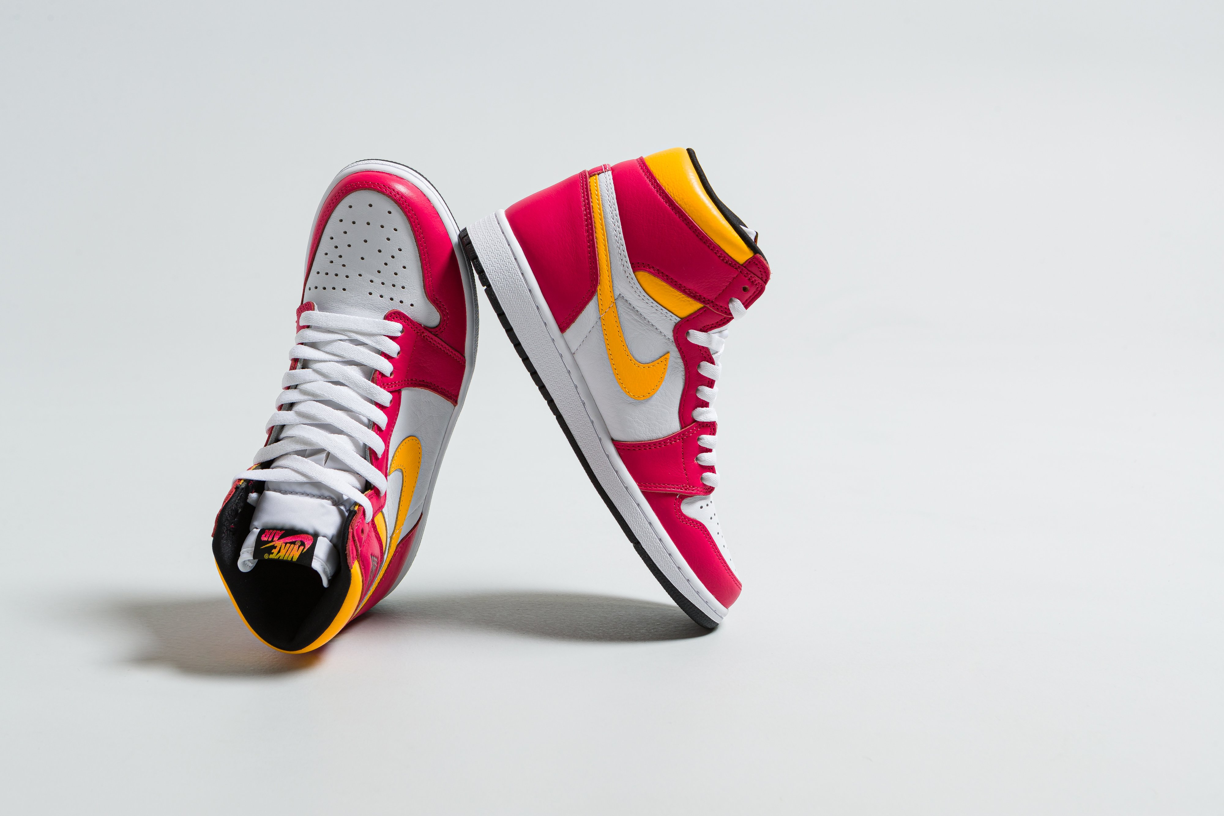 Up There Launches - Nike Air Jordan 1 'Light Fusion Red'
