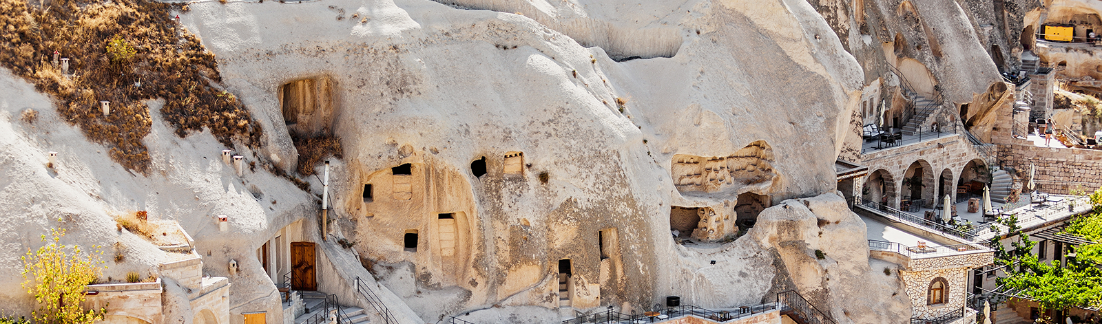 Cave hotels in Turkey