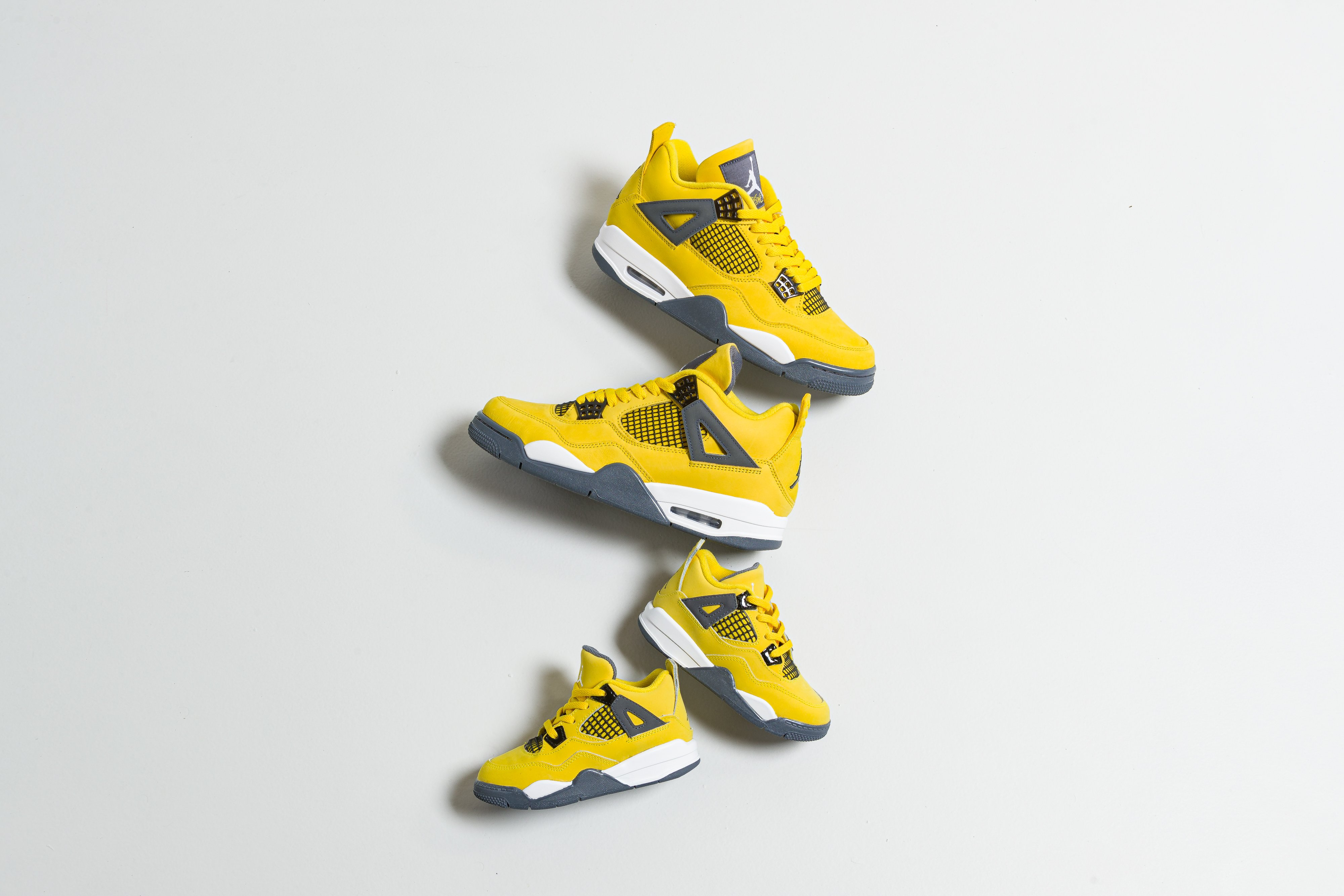 Up There Launches - Nike Air Jordan 4 Retro 'Lightning'