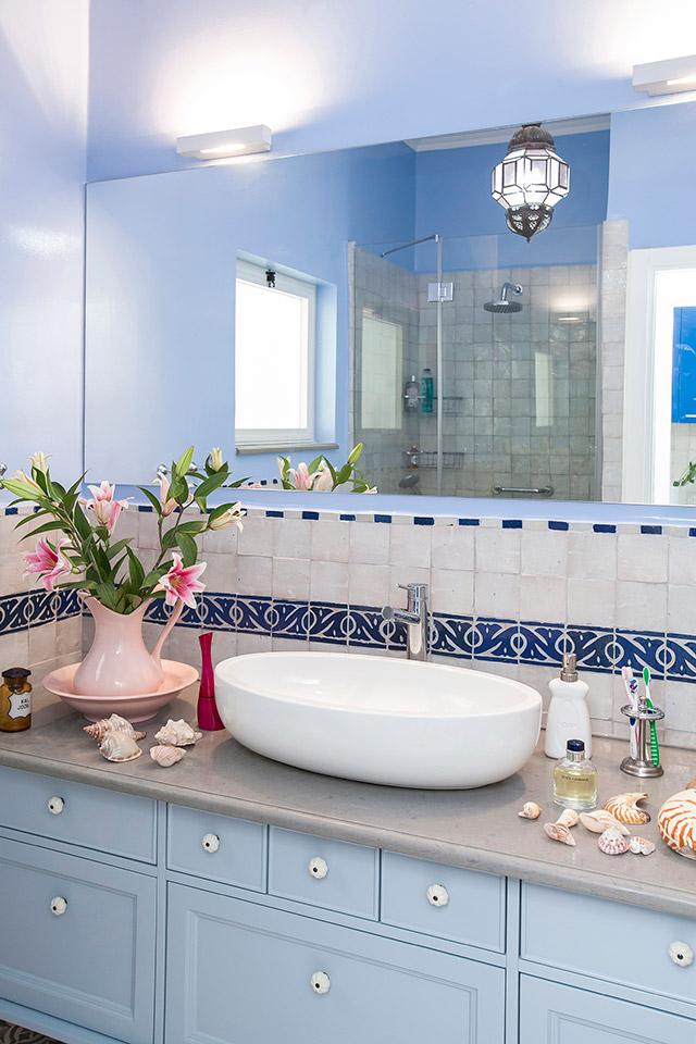 חדר רחצה כיור מונח ארונות מקלחת בהתאמה אישית