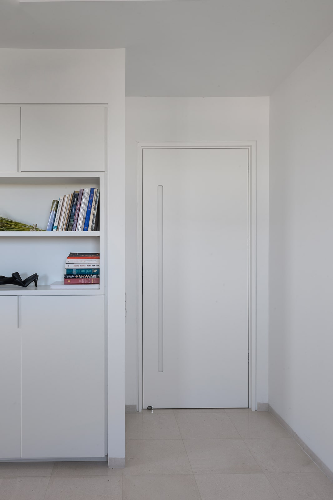 דלת כניסה לחדר ידית אינטגרלית