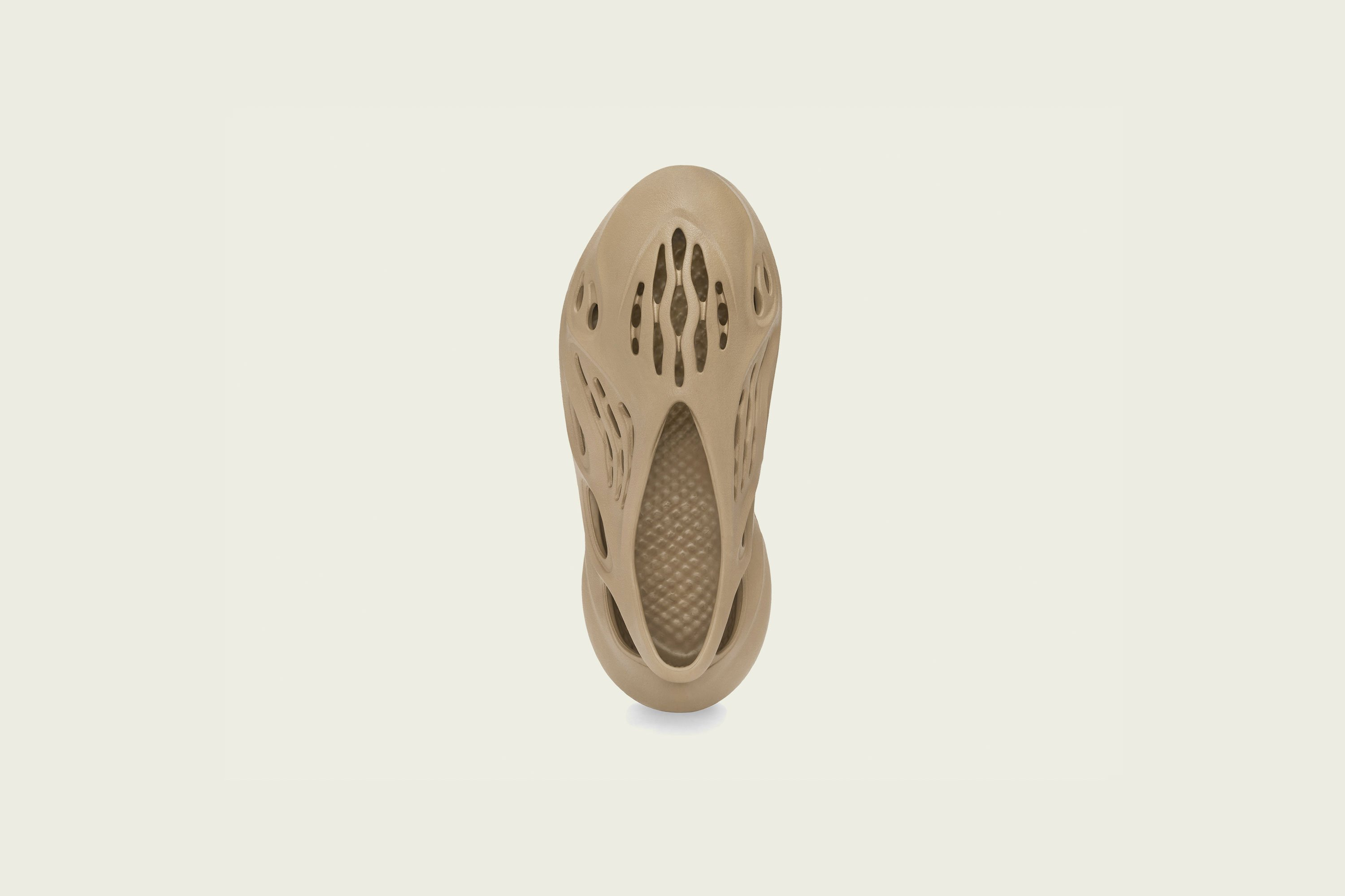 Up There Launches - adidas Originals Kanye West Yeezy YZY Foam Runner - Ochre