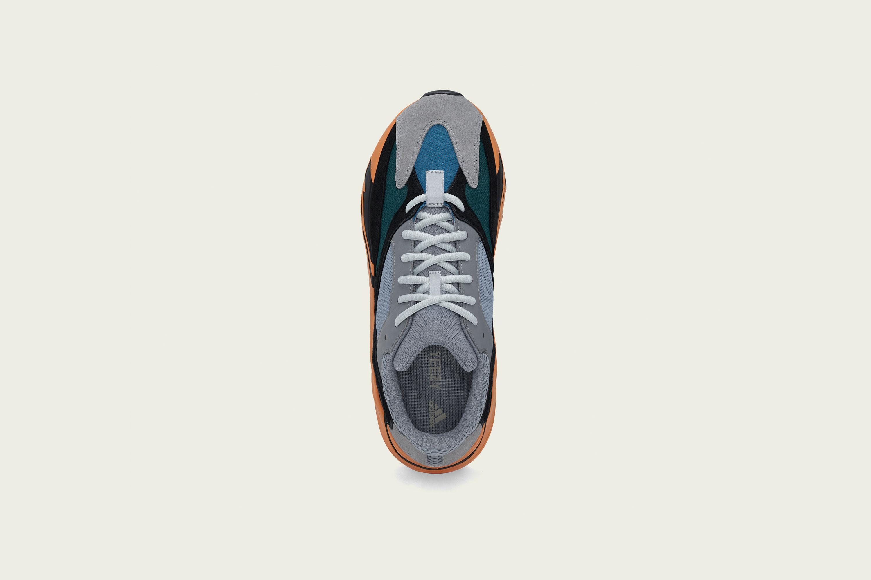 Up There Launches - adidas Originals Kanye West Yeezy YZY 700 'Wash Orange'