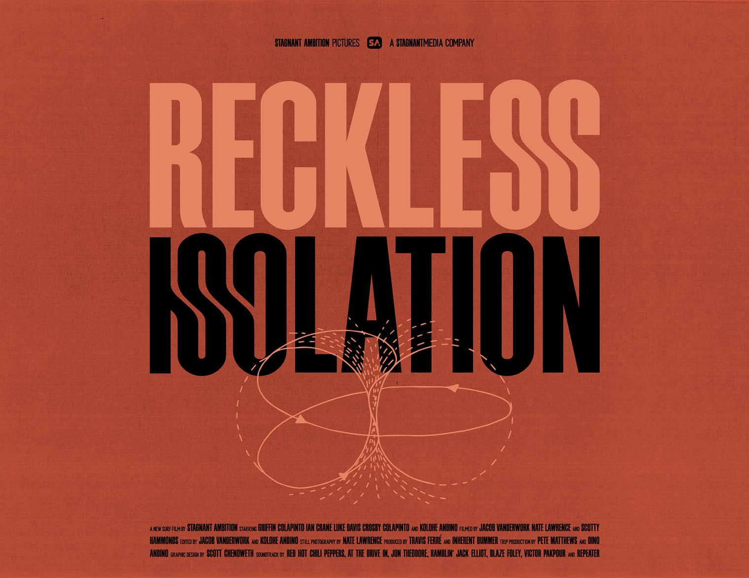 'RECKLESS ISOLATION' STARRING IAN CRANE