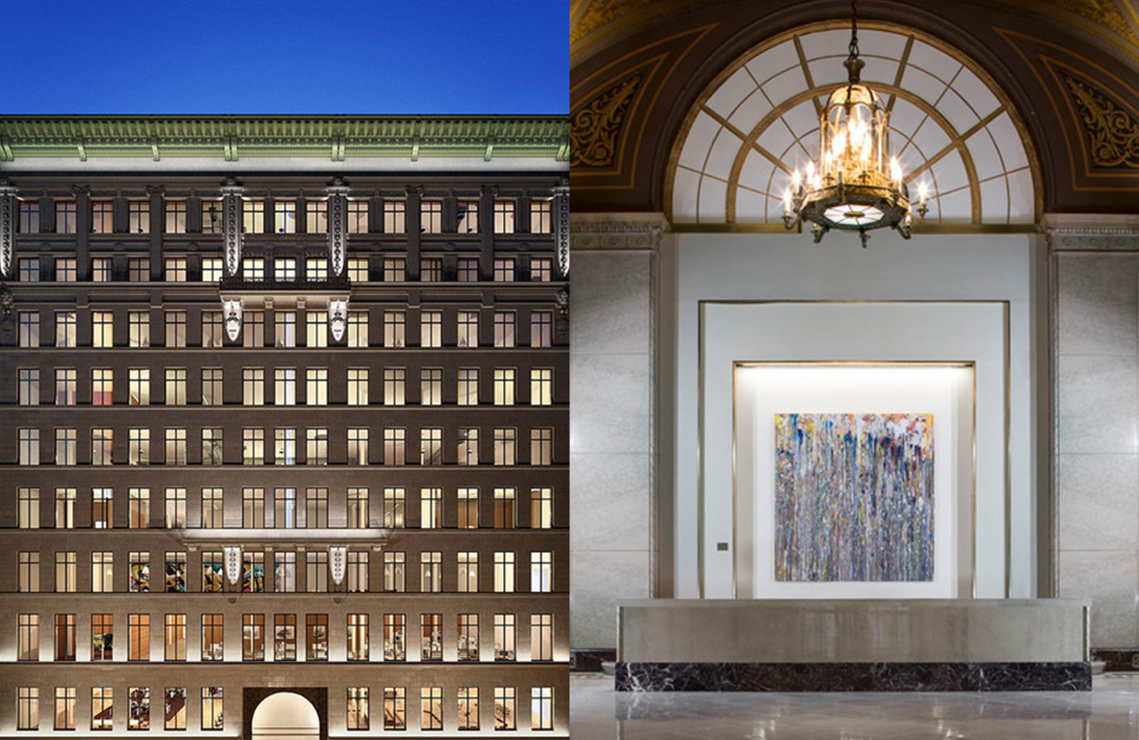 11 Penn NYC, where SP01 Caristo chairs will be featured in the new Apple HQ