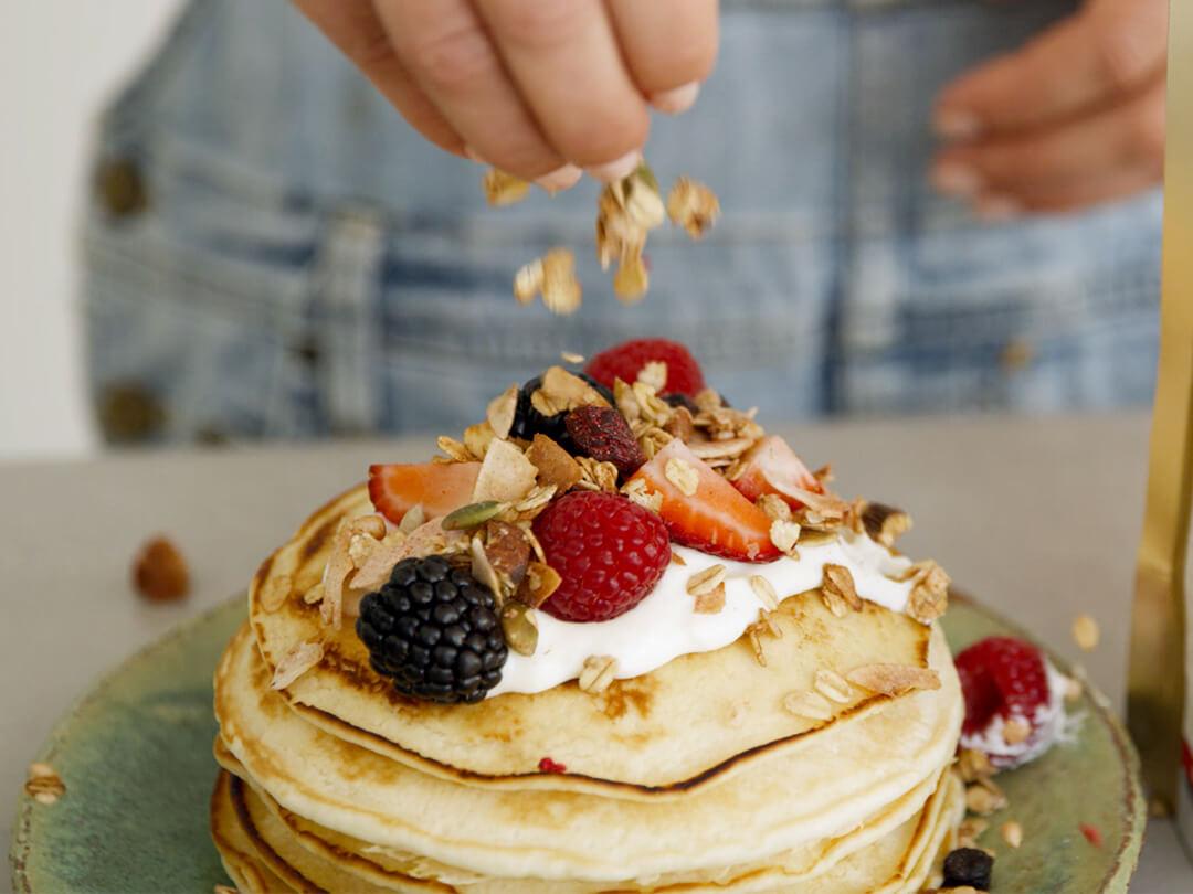 Brookfarm Wild Berry Pancakes