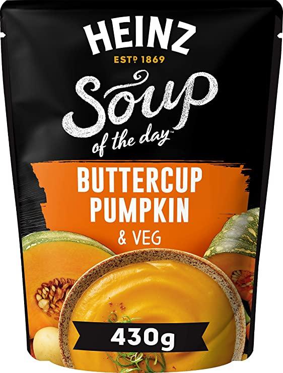 Photograph of 1 x 430g Heinz® Soup of the Day® Buttercup Pumpkin & Veg product