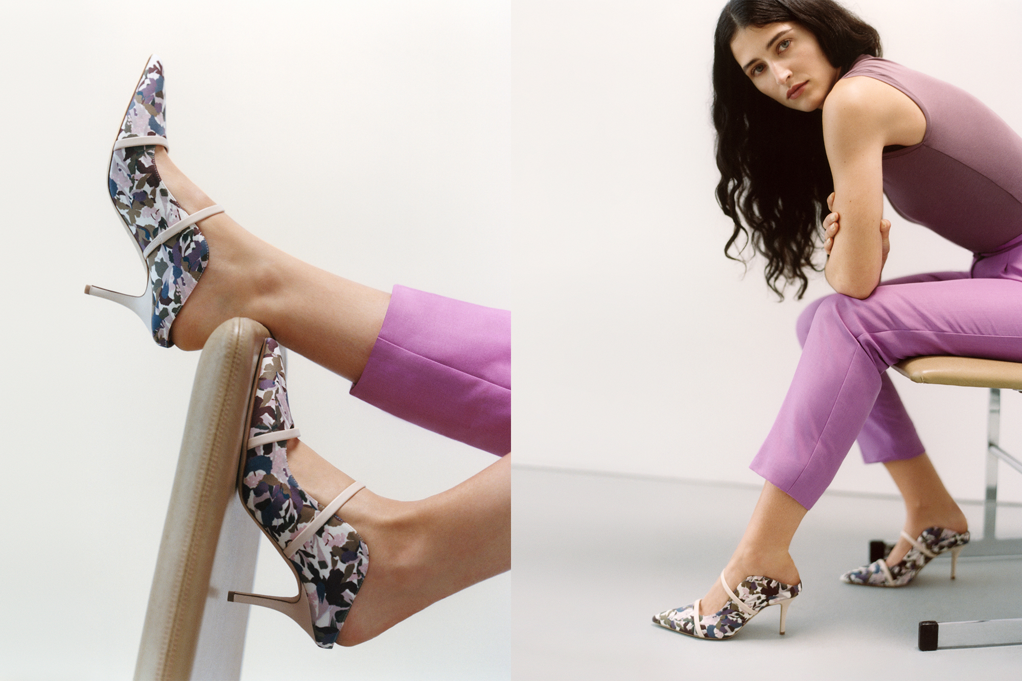 Malone Souliers Icons Made With Liberty Fabric