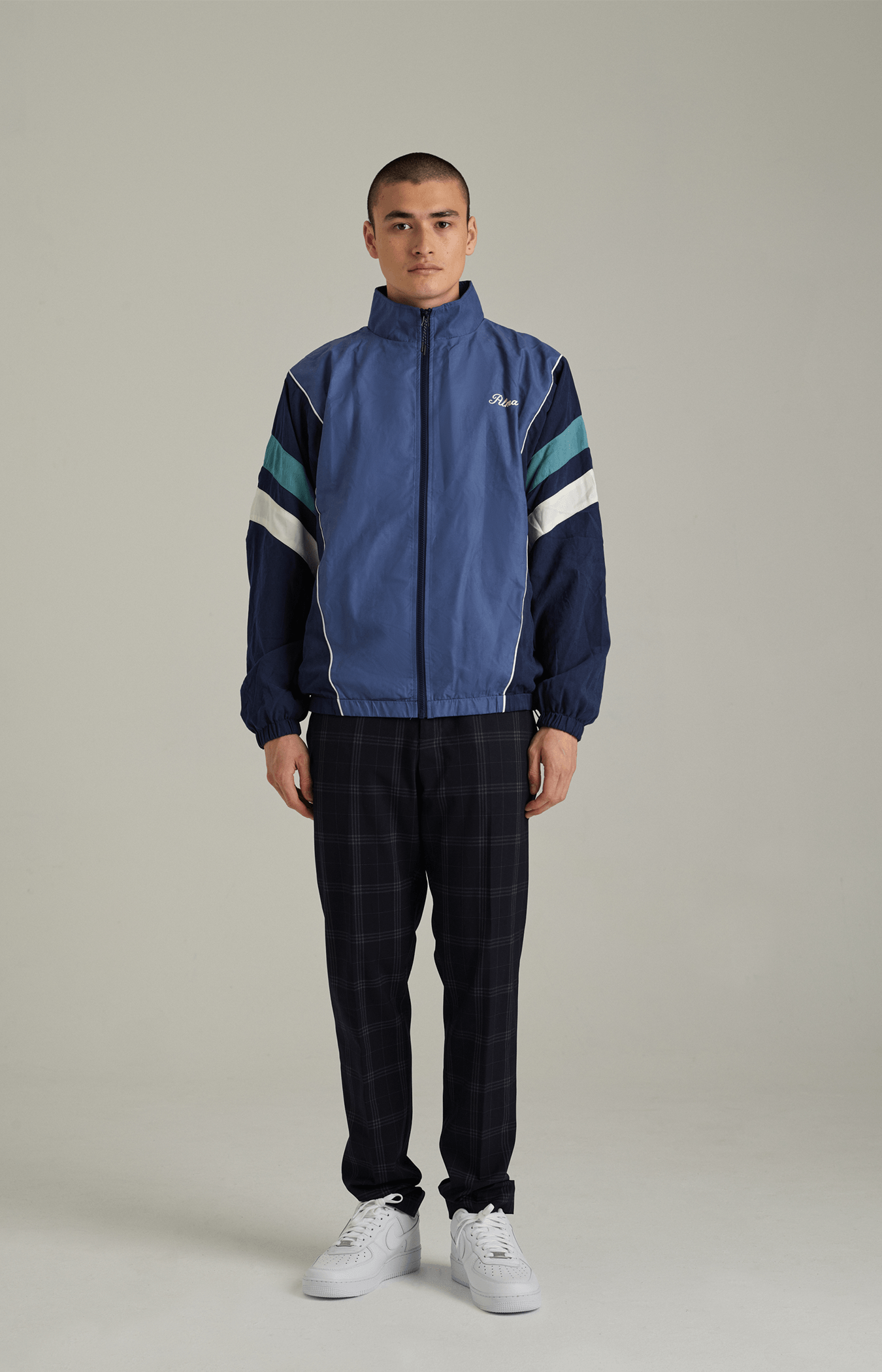 Lotus Blue Penta Track Jacket
