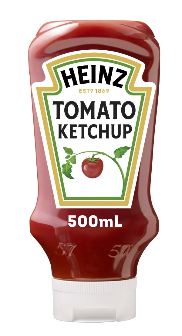 Photograph of 3 x Heinz® Ketchup 500ml  product