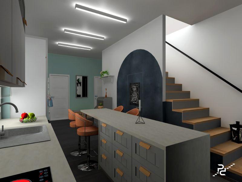 PaPP Design Interiors - dr Fülöpcseiné Papp Viktória tervező lakberendező referencia munka fotó