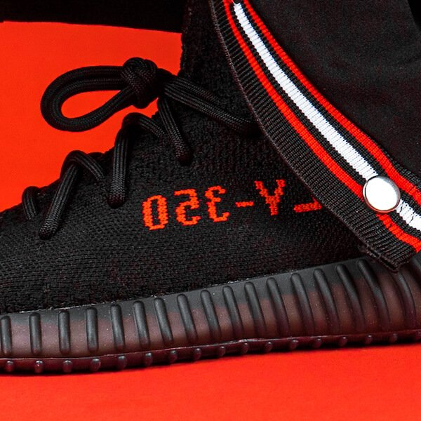 Adidas Yeezy Boost 350 V2 Black Red - CP9652