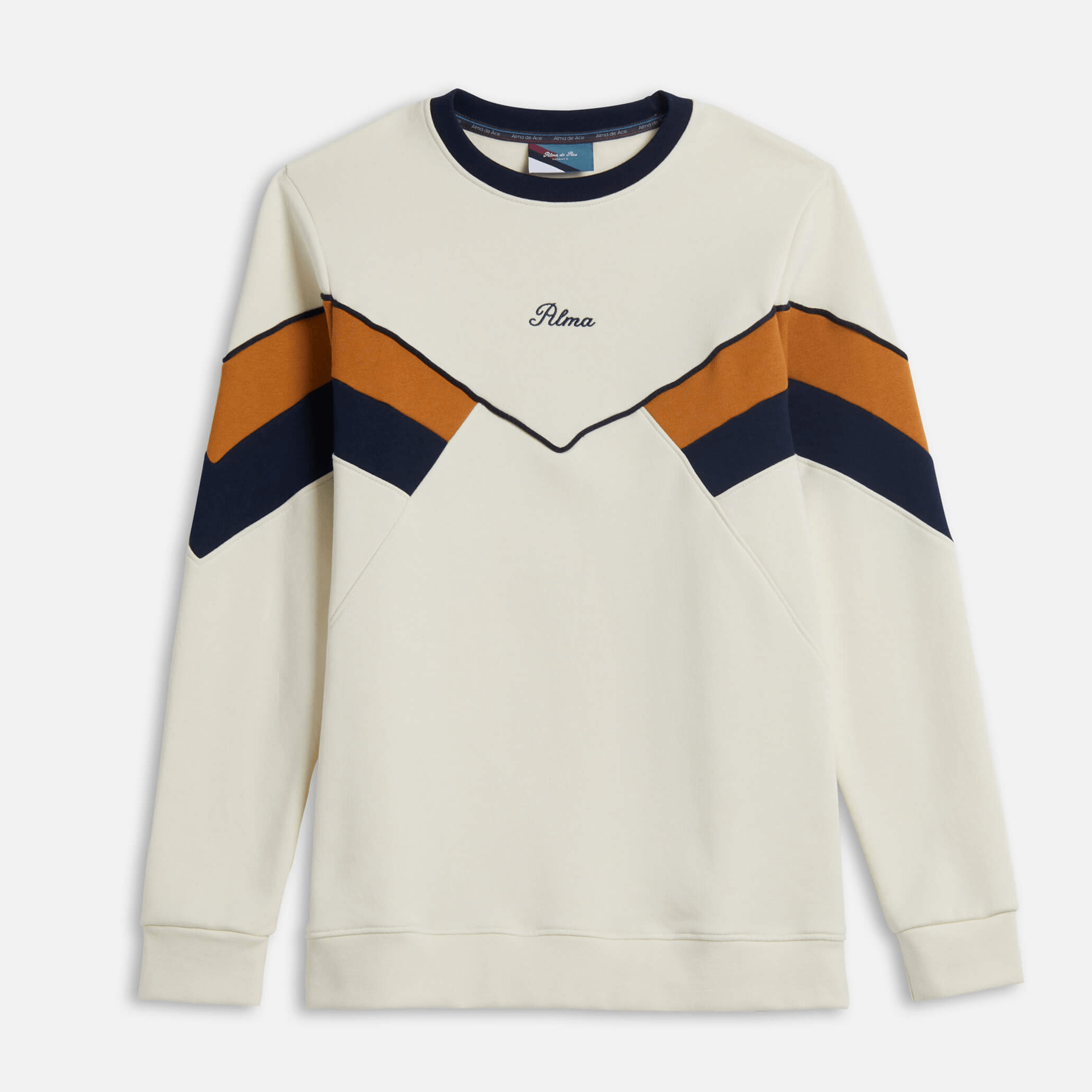 Mustard Chevron Sweatshirt