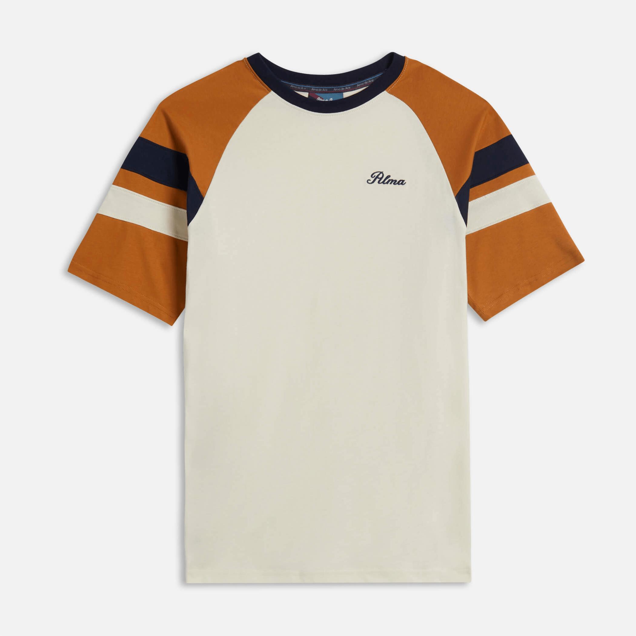 Cream / Mustard Peli T-Shirt