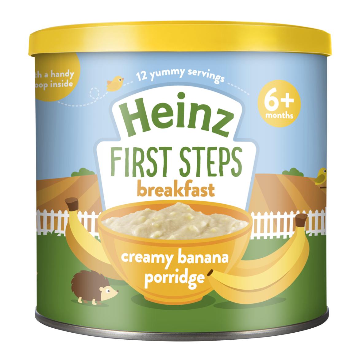 Photograph of 1x Heinz Creamy Banana Porridge 240g product