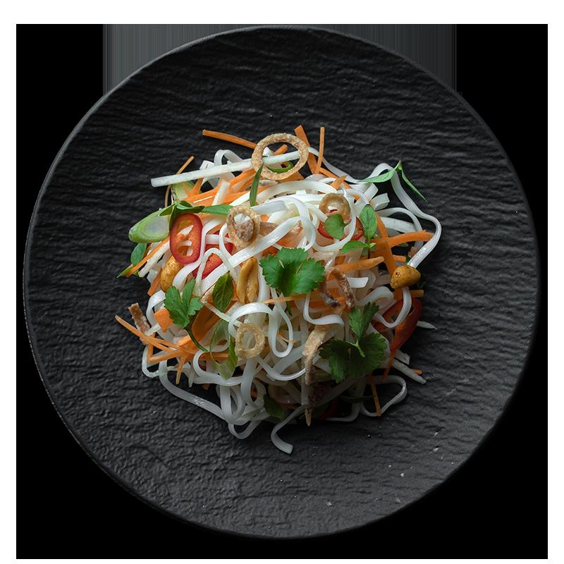 Crispy Taro Pad Thai Home By Nico