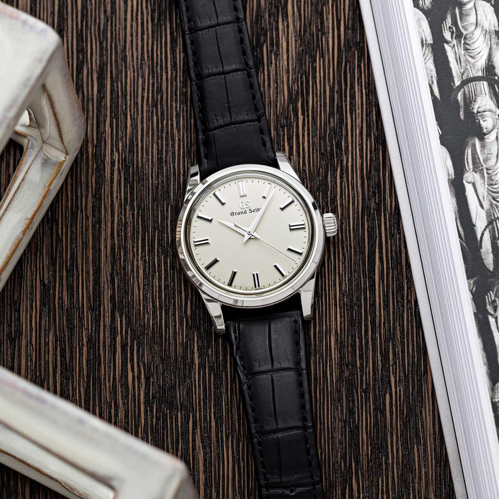 Grand Seiko SBGW231 manual winding luxury men's dress watch.