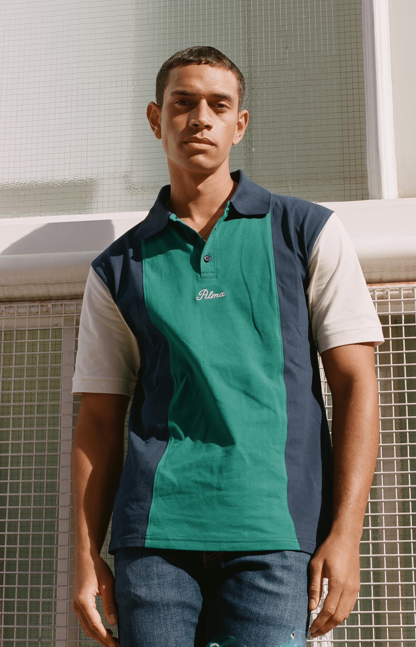 Green Belmont Polo Shirt