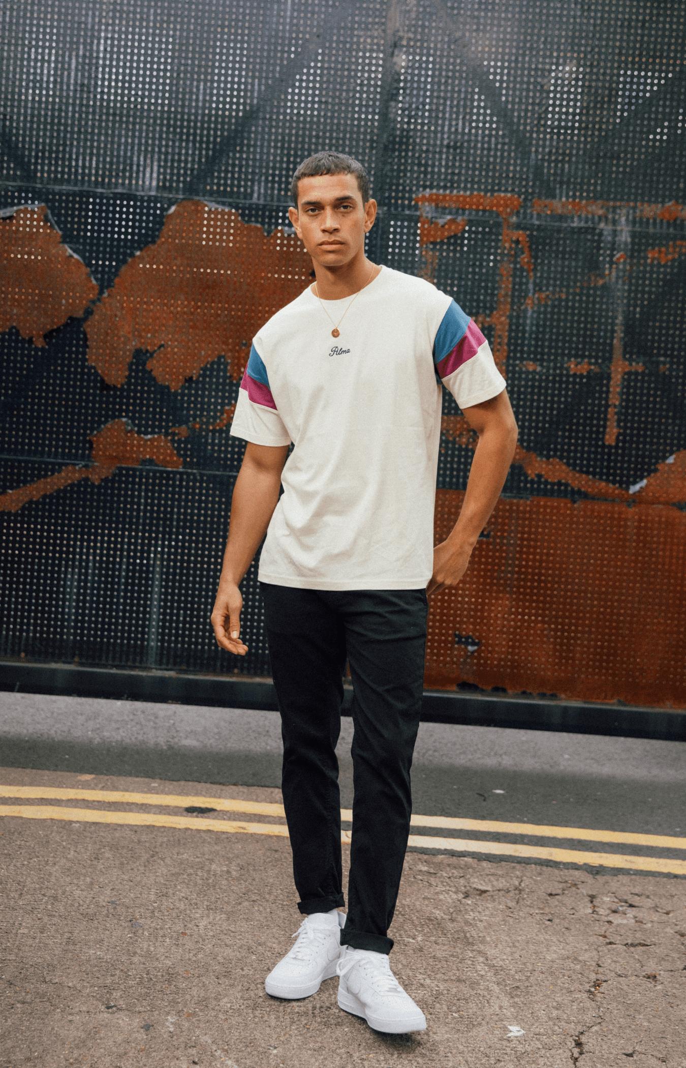 Cream Two Tone Original T-Shirt