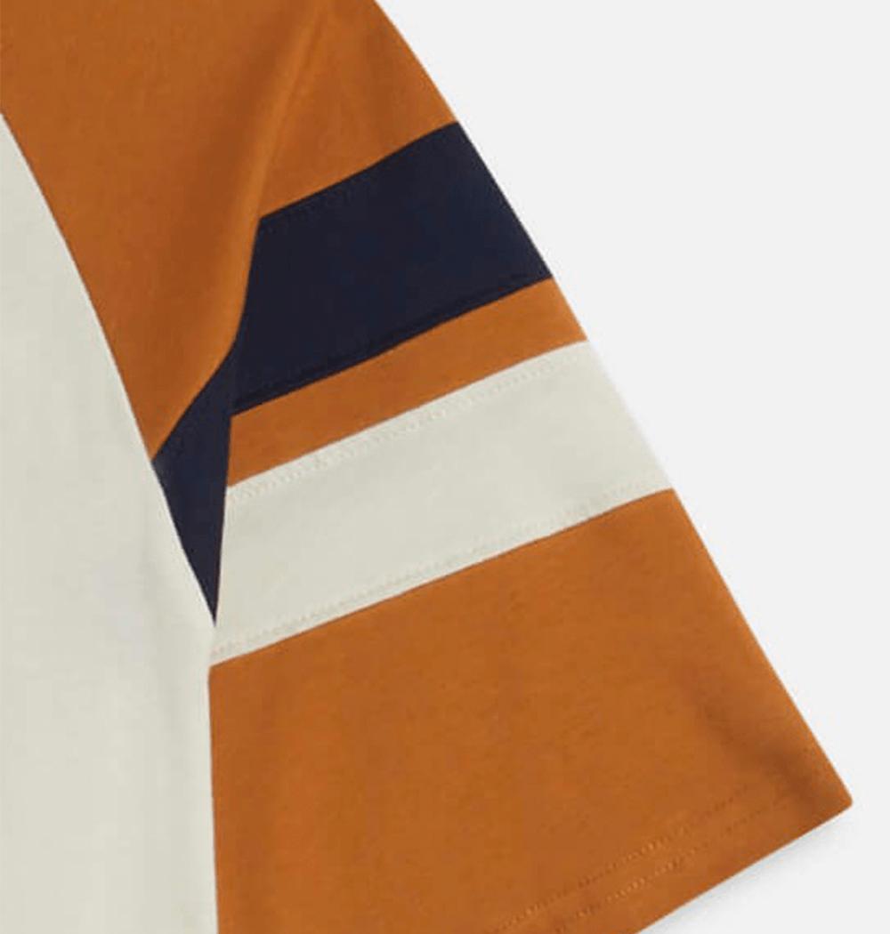 Navy / Mustard Peli T-Shirt