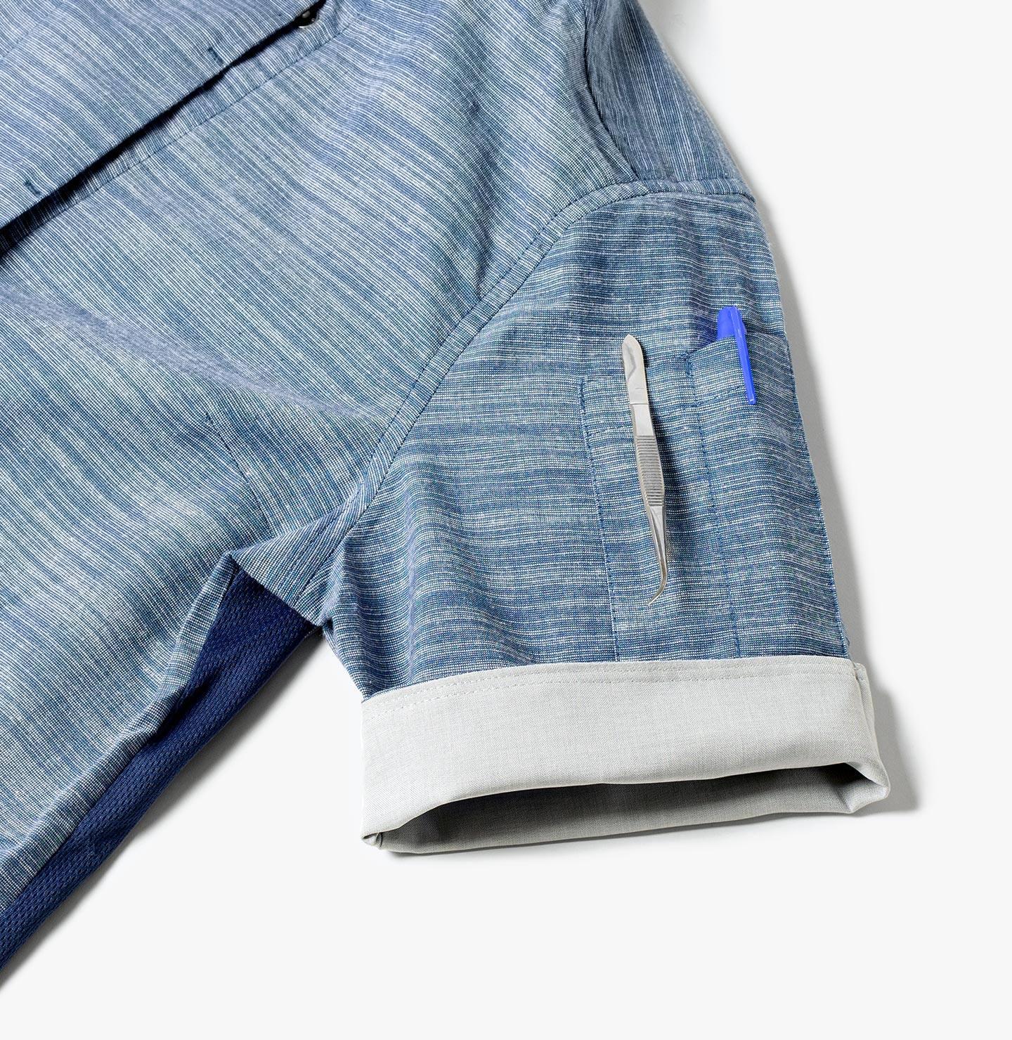 Handy sleeve pockets