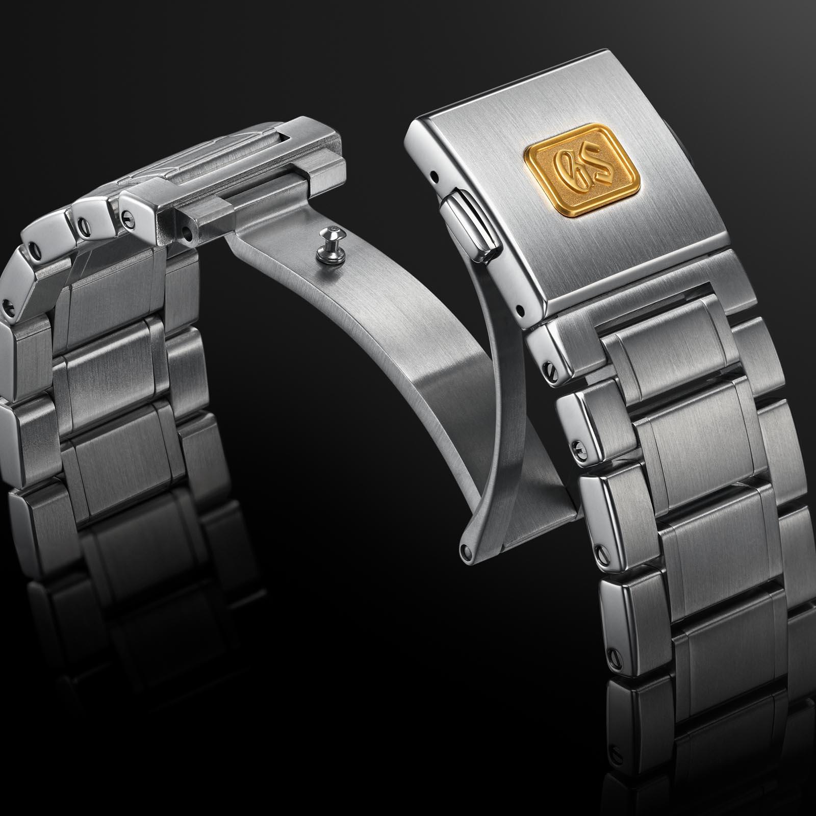 Grand Seiko SLGH003 stainless steel bracelet.
