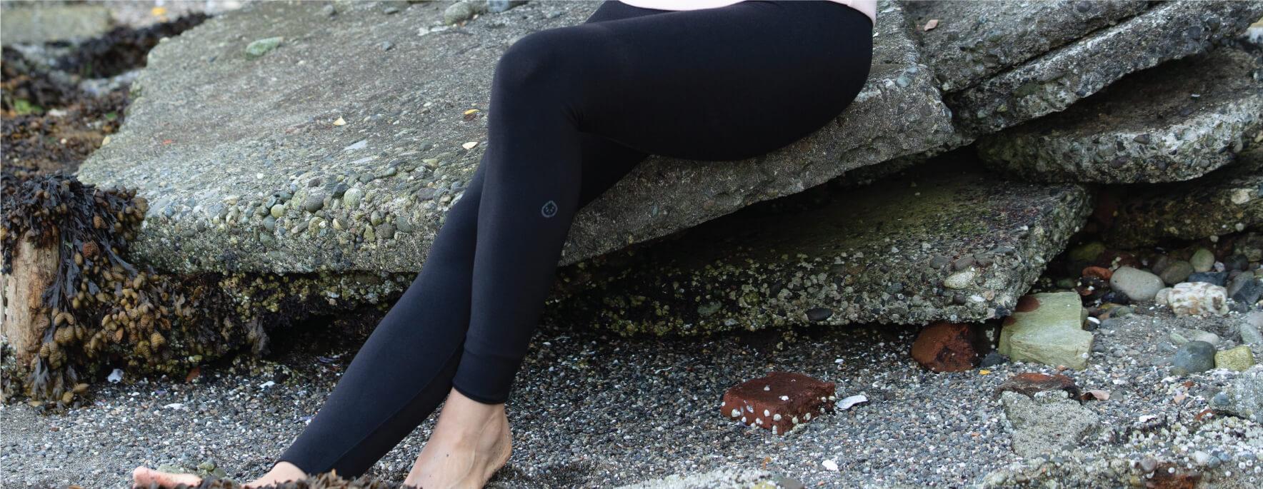 Women's bamboo leggings by tasc Performance