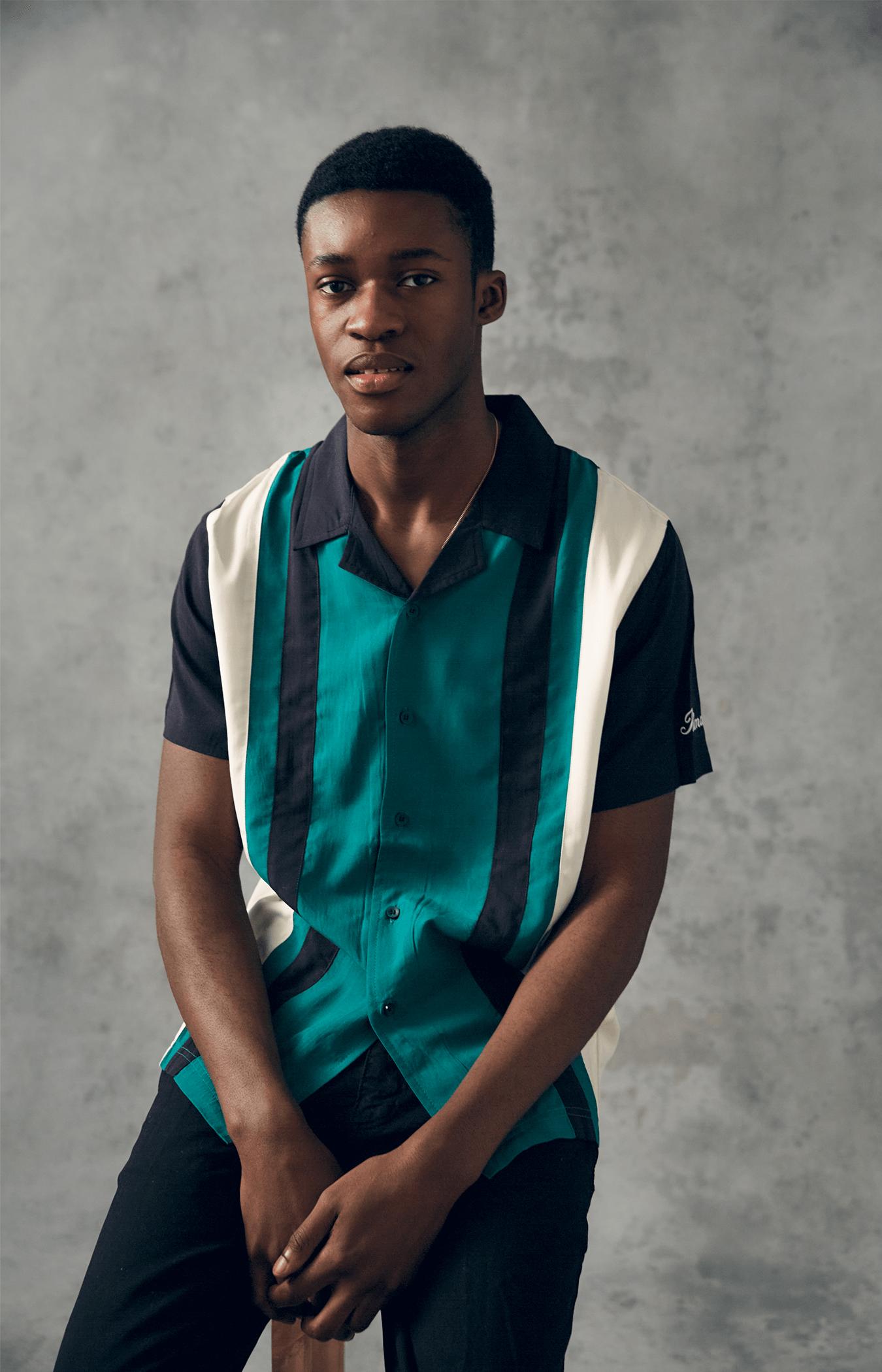 Green / Cream Castor Shirt