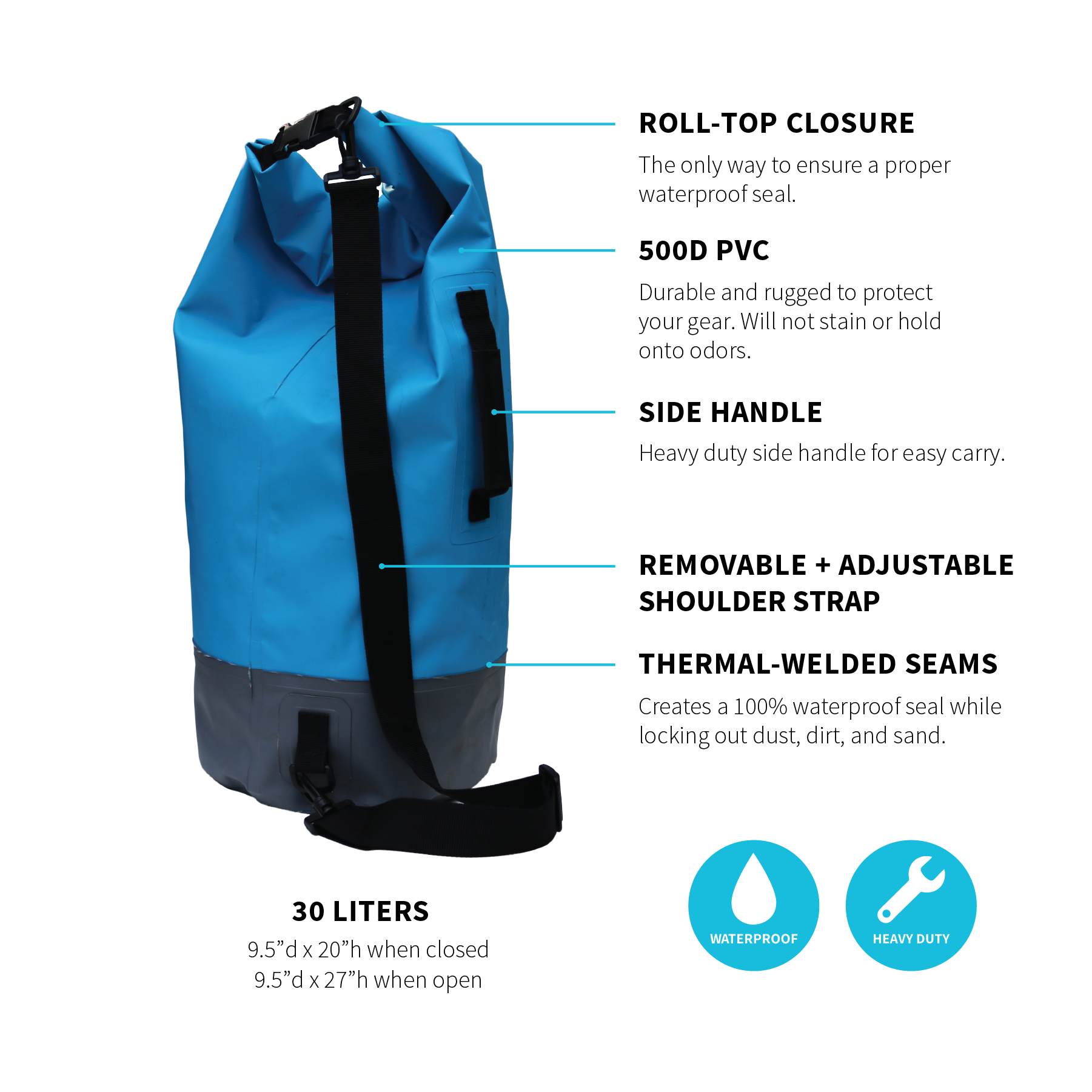 GMG Dry Bags