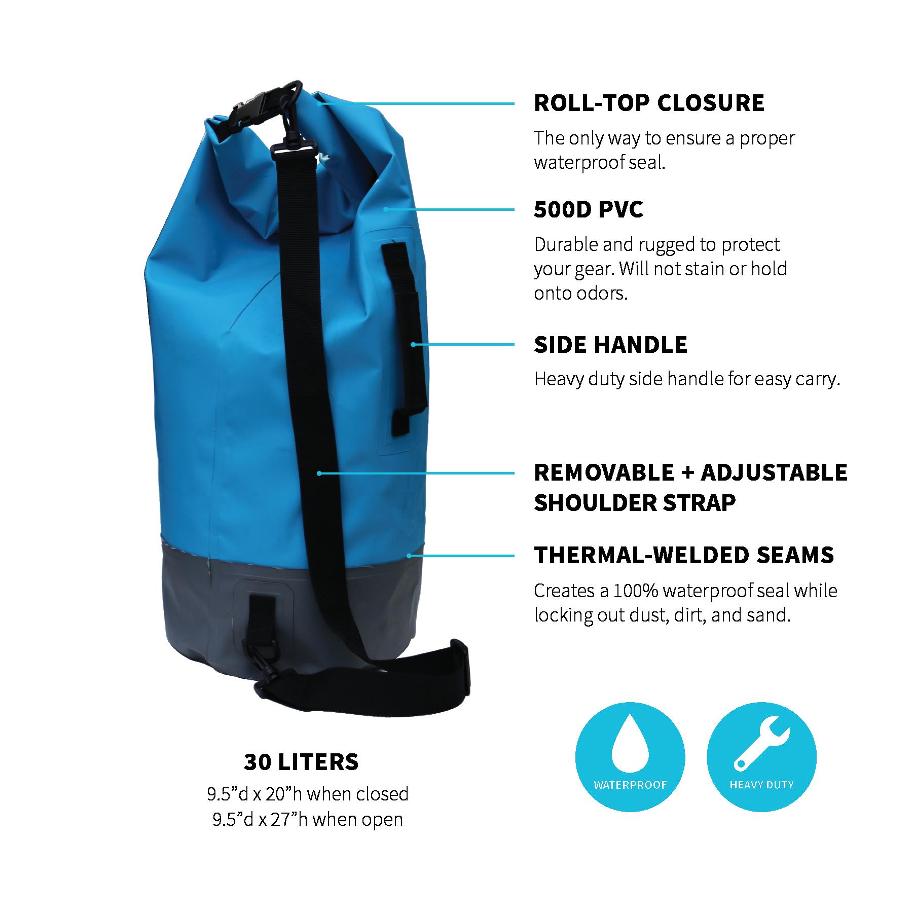Buy 1 Dry Bag, Get 2 Water Bottles Free