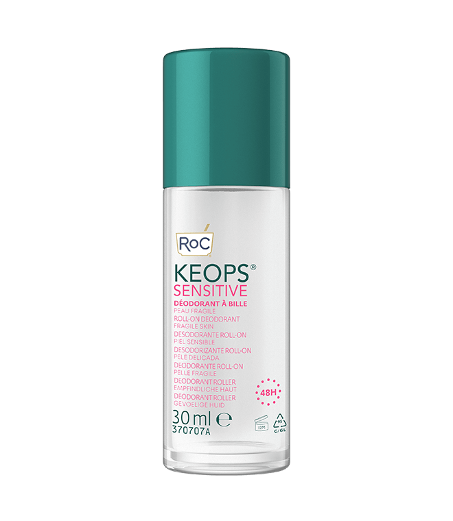 Keops Déodorant Sensitive Soin A Bille Peau Fragile