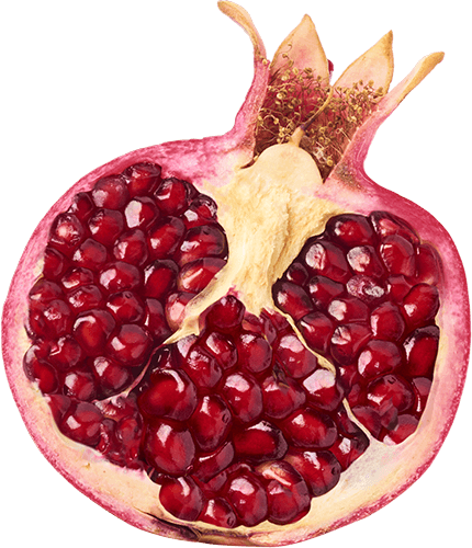 GO BIG ingredients pomegranate